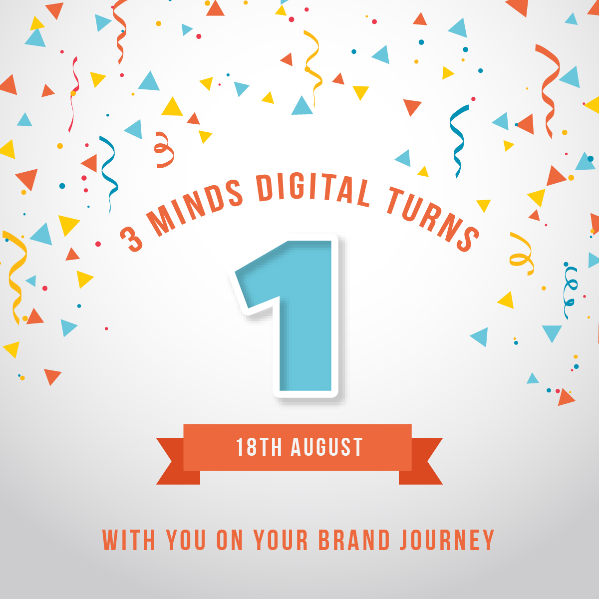 Celebrating the One-Year Anniversary: 3 Minds Digital