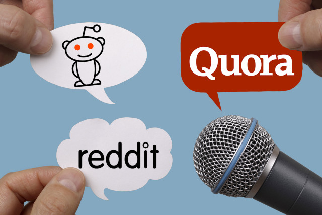 Reddit & Quora: For the curious minds