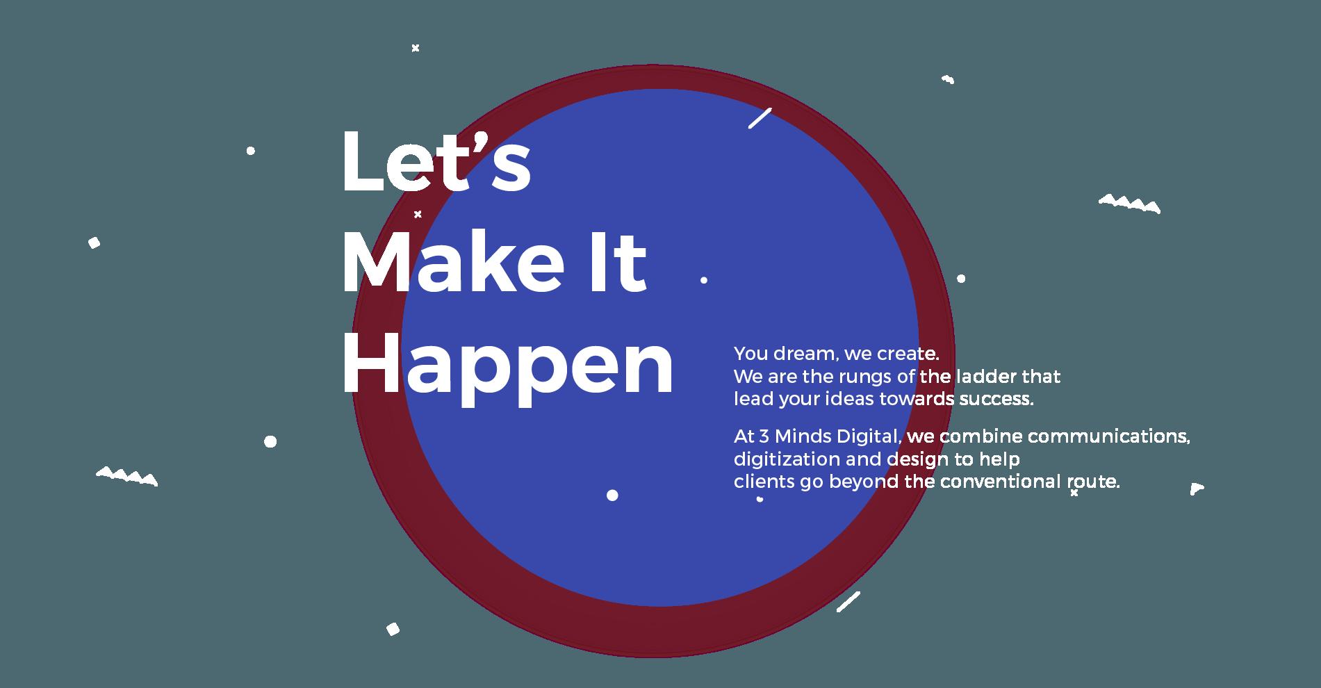 Lets make it happen
