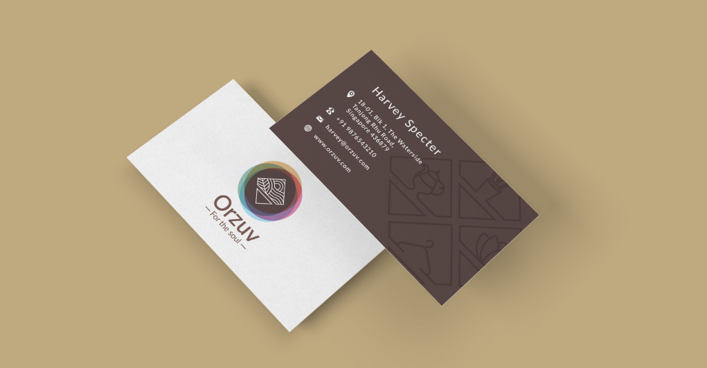 Orzuv Business Card